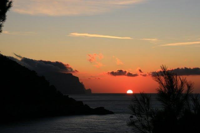 puesta de sol 6/12/09